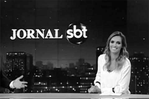 Jornal do SBT P&B